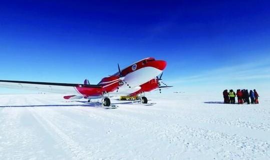 中国极地固定翼飞机雪鹰601顺利完成了对东南极重要航线的探测