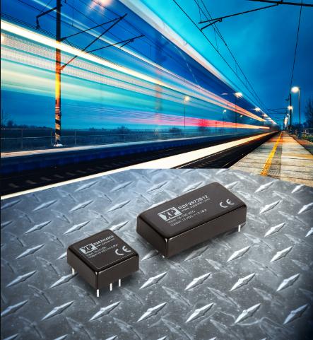 XP Power正式推出两款超宽输入范围、高功率密度的DC-DC转换器