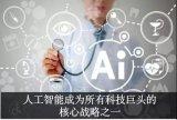 全球10家引領人工智能革命的公司匯總