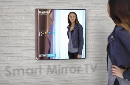 三星新专利曝光 或将为智能电视添加镜面功能