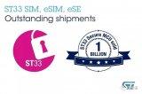 ST宣布ST33嵌入式安全IC的累计销量超过10...