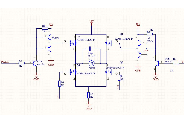 使用STM32103单片机的L298N的正反转程序资料免费下载