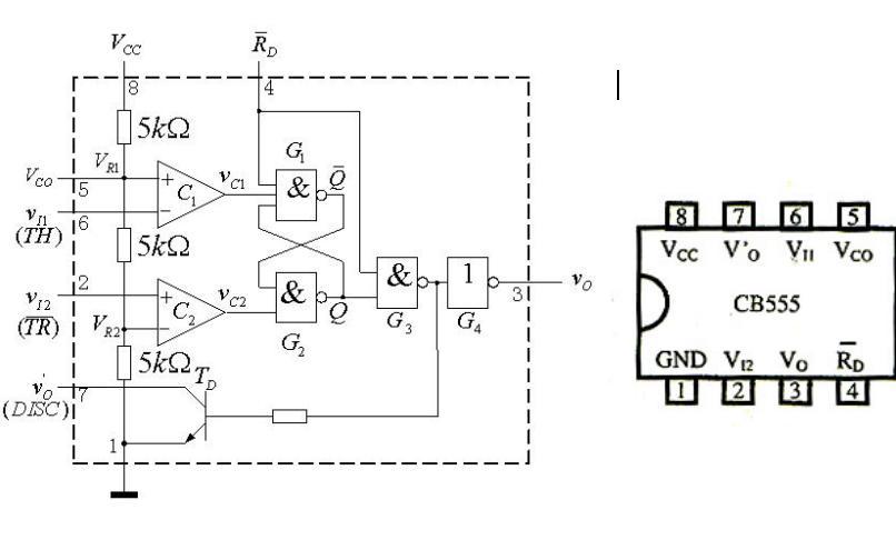 555定时器的结构和工作原理详细资料介绍