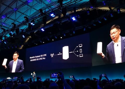 华为推出全球最小5G CPE在5G网络下现网实测...