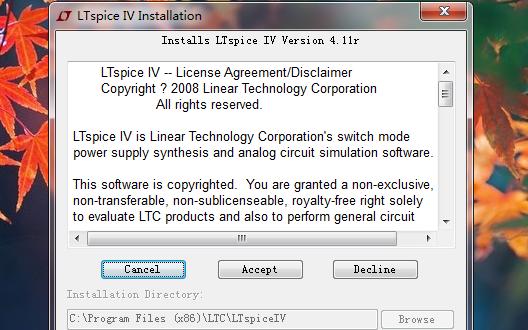 LTspice IV模拟电路图软件免费下载