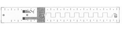 直线状与不规则状的pattern差异对电路的影响分析