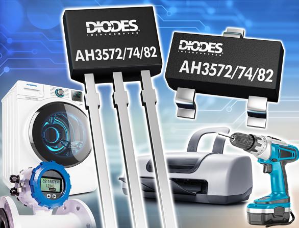 Diodes推出領先市場的 AH35xx系列全極...