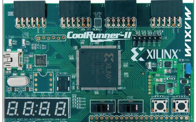 XA2C384 CoolRunner-II汽车CPLD的数据手册免费下载