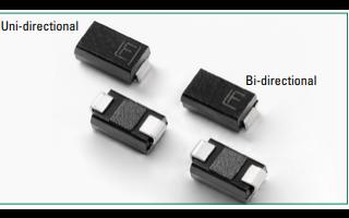 SMAJ系列瞬態電壓抑制二極管的數據手冊免費下載