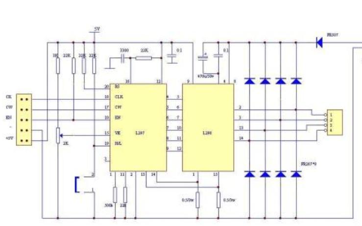 步进电机测量每毫米步数程序和LCD1602程序免费下载