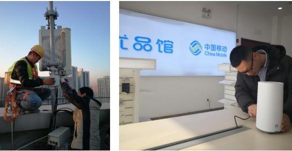 中国移动率先实现了甘肃5G组网下的高清视频业务直播