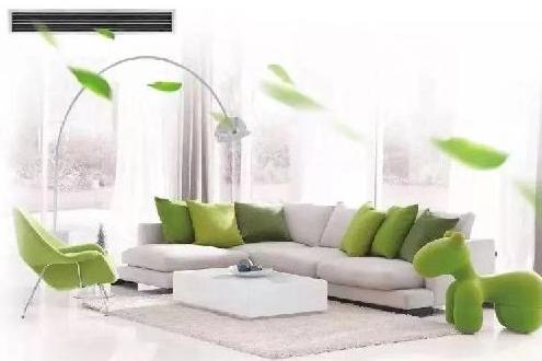 日立家用中央空调NewAir新风系统 一键保护室内空气环境