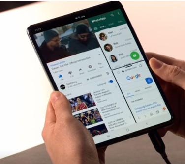 华为折叠屏手机与三星Galaxy Fold?#21592;日?..
