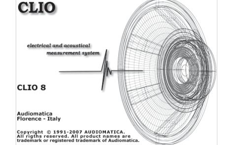 电声测试软件CLio质量控制软件扩展的用户手册免费下载