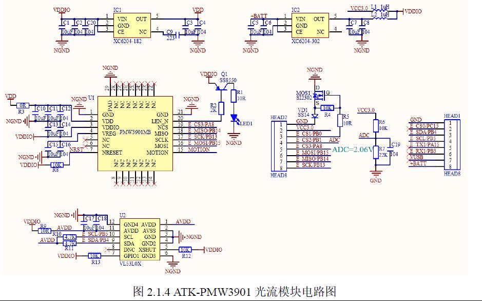 ATK-PMW3901光流模块的用户手册免费下载