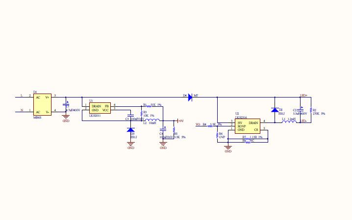 KU5529A雷达感应吸顶灯的详细资料合集介绍