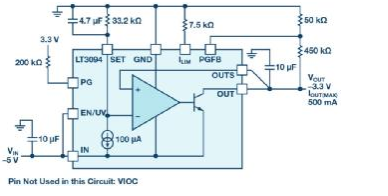 """使用超低噪声LDO提供""""干净""""的电源"""