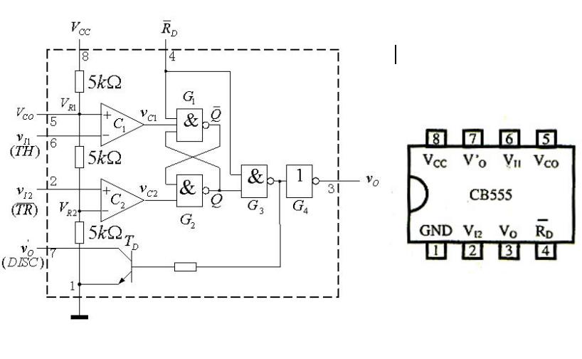 555定时器的结构和工作原理详细资料介绍 电子发烧友网