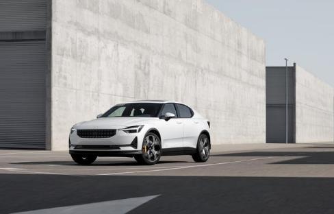 沃尔沃发布Polestar 2纯电动汽车 正面对...