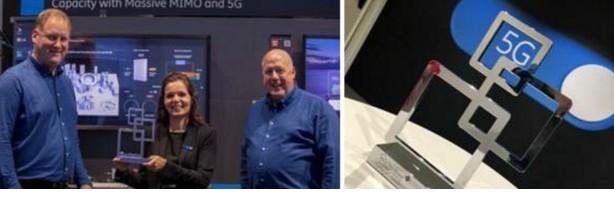 爱立信5G高频段大规模天线技术在2019年巴展荣...