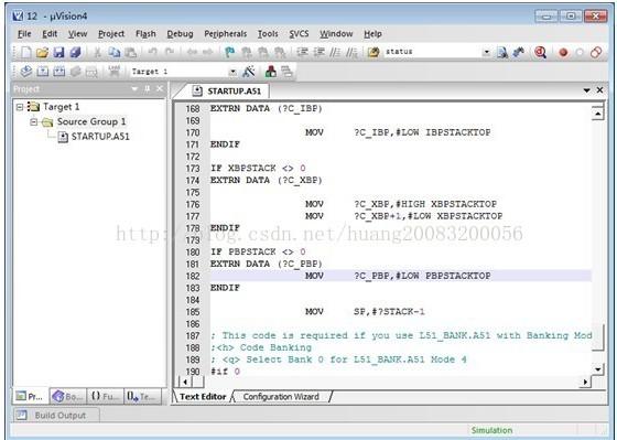 51单片机编程环境的搭建及代码编写的方法