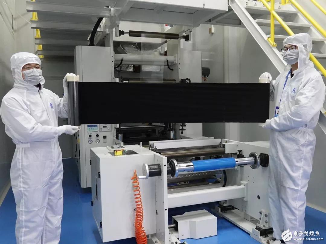 国内首套自主研发的膜电极生产线正式投产 预计产值可超3亿元