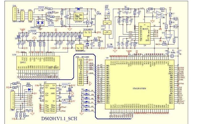 使用STM32进行diy示波器的程序和资料合集免费下载