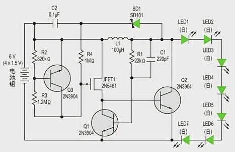 基于利用镇流电阻或电流源来对LED灯的驱动设计