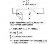 PCB导体上的表面电阻应该如何计算呢?