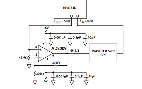 AD8009低失真放大器的数据手册免费下载