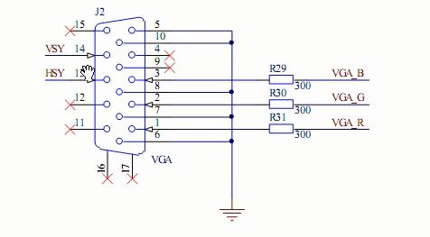 FPGA视频教程之BJ-EPM240学习板VGA接口的设计实验详细资料说明