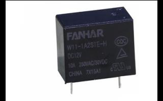W11-H功率繼電器的詳細數據手冊免費下載