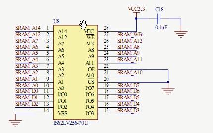 FPGA视频教程之BJ-EPM240学习板SRAM读写实验的详细资料说明
