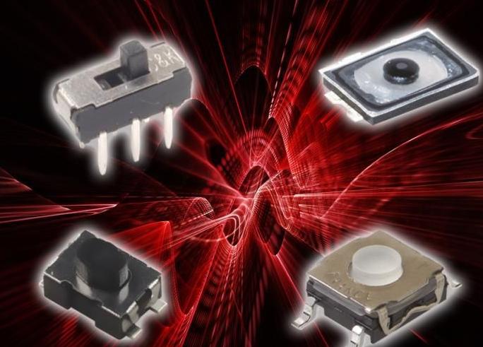 C&K宣布为游戏控制器和游戏配件设计者提供各种各样的开关组合
