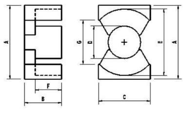 常用磁芯与应用功率对照表的详细资料说明