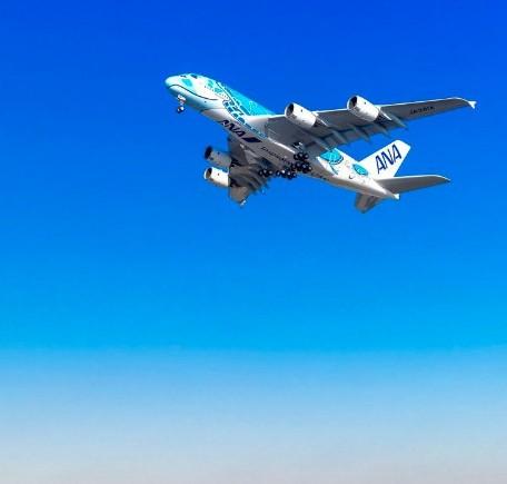 全日空首架A380客机已在德国进行发动机测试