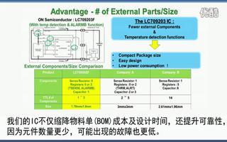 安森美半导体的电池电量计量IC方案