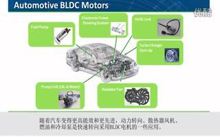应用于BLDC电机驱动应用的STK984-190-E功率集成模块