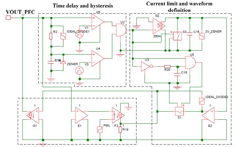 适用于前端PFC设计的直流电源模块大信号模型及其仿真验证资料说明