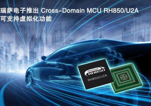 瑞萨电子推出集成了硬件集成虚拟化辅助功能的微控制器