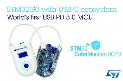 意法半导体STM32G0生态系统片上集成多达两个...
