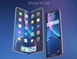 iPhone折叠手机渲染图曝光!预计2020年才能面世,将采用国产屏幕