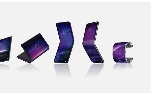 一次五款!TCL开发折叠屏设备,手机可变手环