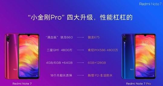 红米Note 7 Pro即将发布支持P2i双重生...