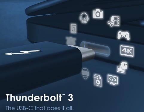 英特尔正式开放Thunderbolt协议规范将增强USB Type-C接口产品的兼容性