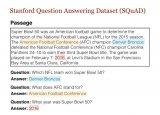 斯坦福NLP的强大QA数据集