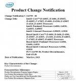 Intel宣布第六代酷睿处理器退役