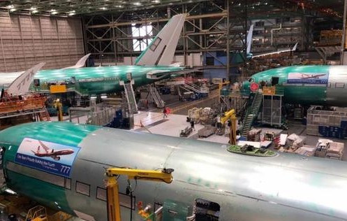 波音推出了世界上最长的民航客机777-9机长达77米