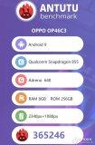 OPPO神秘工程机跑分曝光 综合跑分达365246