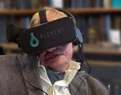 霍金的黑洞VR应用将于2020年初发布